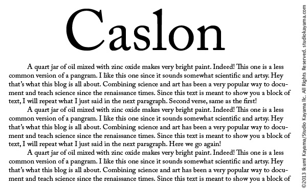 Best type of font for an essay?